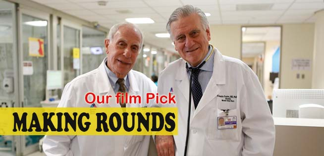 Dr. Valentin Fuster And Dr. Herschel Sklaroff Care For Critically Ill Heart  Patients At