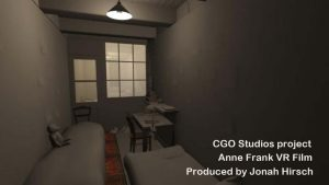 From Anne Frank VR film in production - CGO Studios