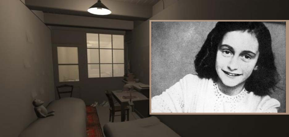 New Vr Film Recreates Anne Franks Room