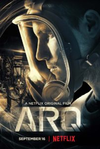 Writer, director Tony Elliott makes his debut with ARQ