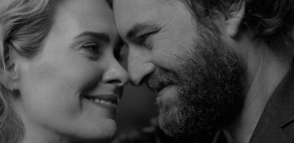 """Blue Jay"" Trailer stars Sarah Paulson and Mark Duplass as former sweethearts reconnecting after a chance meeting - Romance, Drama, directed by Alex Lehmann."