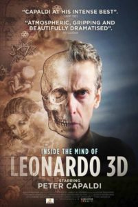Peter Capaldi made Leonardo 3D before starting to shoot Dr Who.