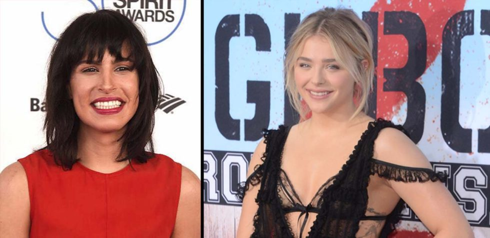"""Actress, and director Desiree Akhavan (L) to direct rising star, actress, Chloë Grace Moretz in the upcoming """"The Miseducation of Cameron Post."""""""