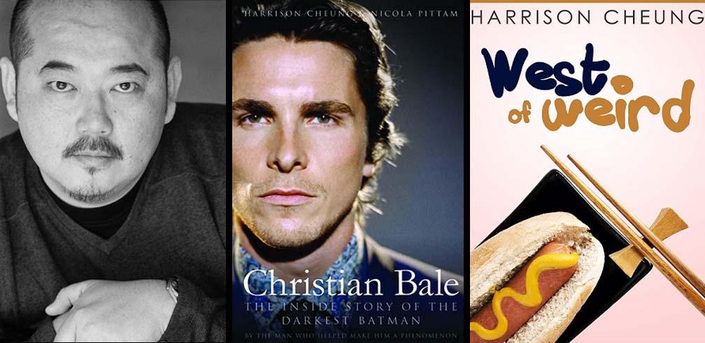 Christian Bale biographer, Harrison Cheung pens new new YA novel.