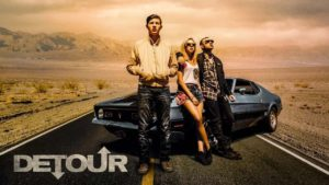 "Actor Tye Sheridan in new indie thriller 'Detour,"" Streaming now."