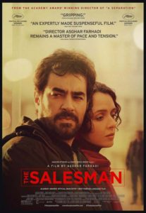 The Salesman (2016) is the Oscar nominated film from Iran, competing in the foreign-language category.
