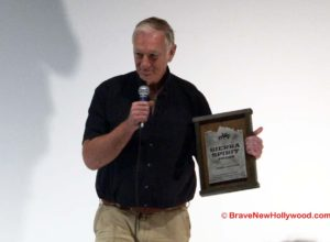 "John Sayles, writer, director, novelist was honored by Mammoth Lakes Film Festival following a special screening of his 1983 film ""Baby It's You."""