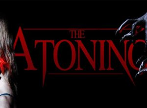 "A mystical force grips Vera and her family in Michael Willaims' horror, mystery ""The Atoning"" (2017). Re;eased by Gravitas Ventures."