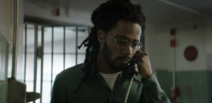 "Actor Lakeith Stanfield portrays the real life injustice of prisoner Colin Warren in ""Crown Heights"" - Amazon Studios / IFC Films"