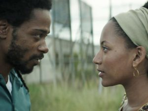 "Actors Lakeith Stanfield and Natalie Paul light up the screen in ""Crown Heights"" (2017) movie."