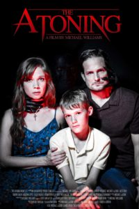 "Movie trailer. ""The Atoning"" indie horror film stars Virginia Newcomb, Michael LaCour, Cannon Bosarge."