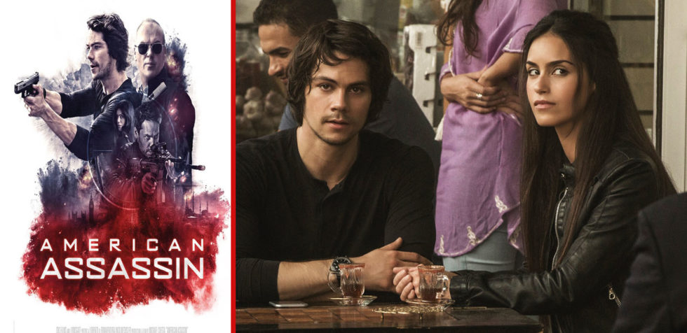 "Rising star Dylan O'Brien and co-star Shiva Negar jump into the action in ""American Assassin."""