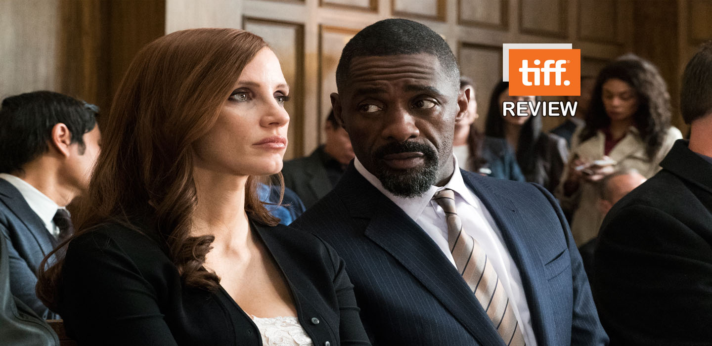 """Jessica Chastain puts on her bast game-face in Aaron Sorkin film """"Molly's Game."""""""