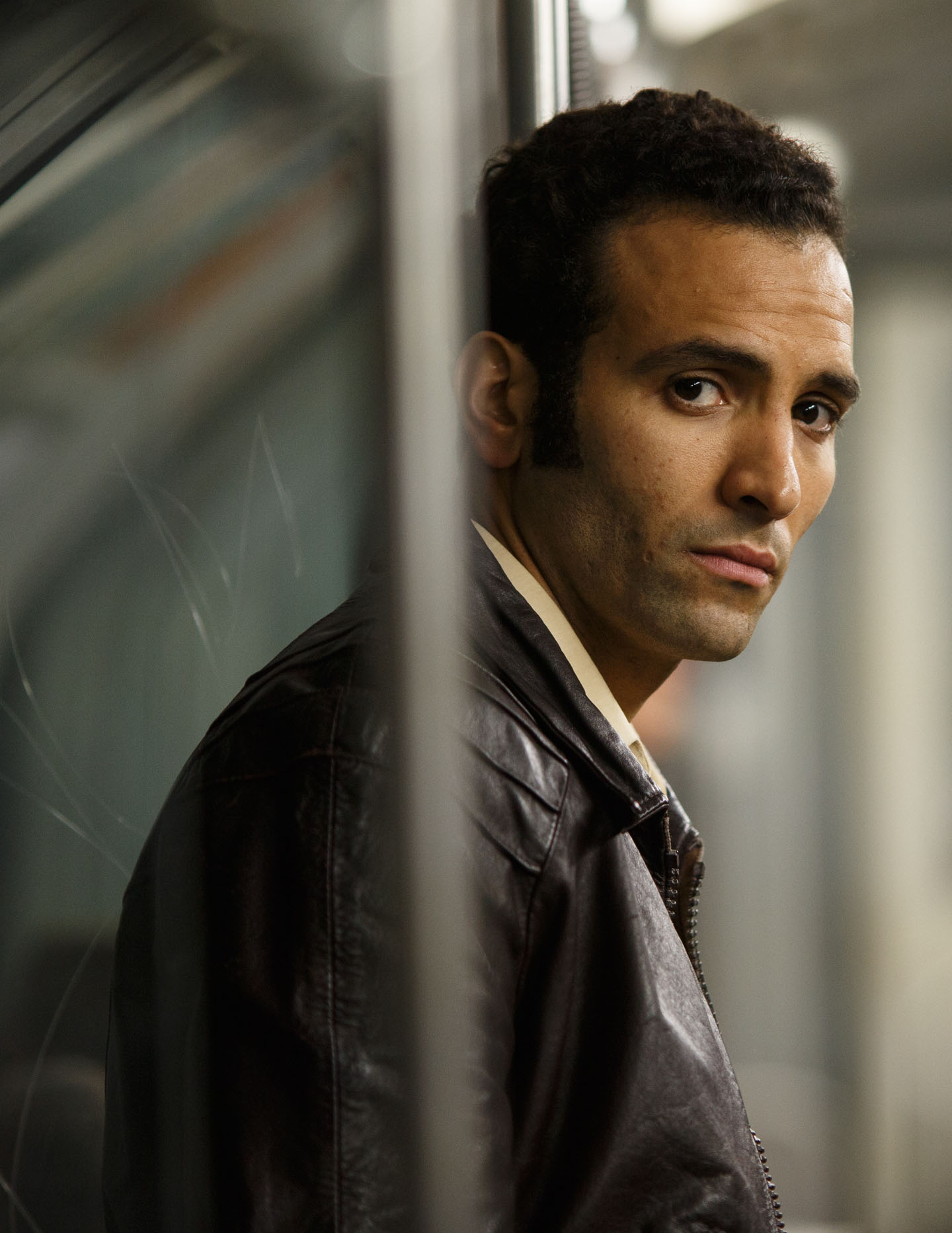 Rising star Marwan Kenzari is a Dutch actor of Tunisian decent.