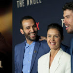 """Actors, Marwan Kenzari, Hannah Ware and Toby Kebbell celebrate Netflix's release of real-life, spy thriller, """"The Angel,"""""""