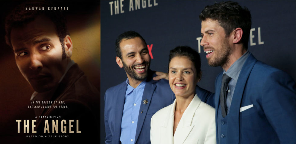 "Actors, Marwan Kenzari, Hannah Ware and Toby Kebbell celebrate Netflix's release of real-life, spy thriller, ""The Angel,"""