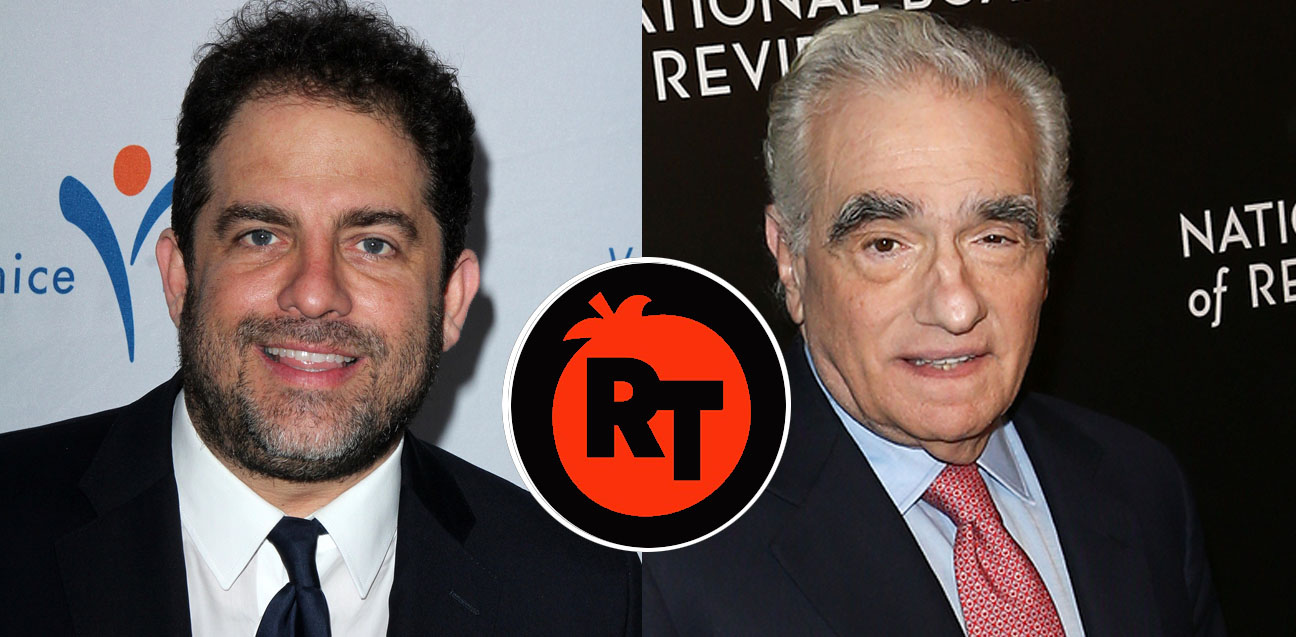 Blasting Rotten Tomatoes: film directors Brett Ratner (L) and Martin Scorsese (R) have expressed their concern about the American review-aggregation website.