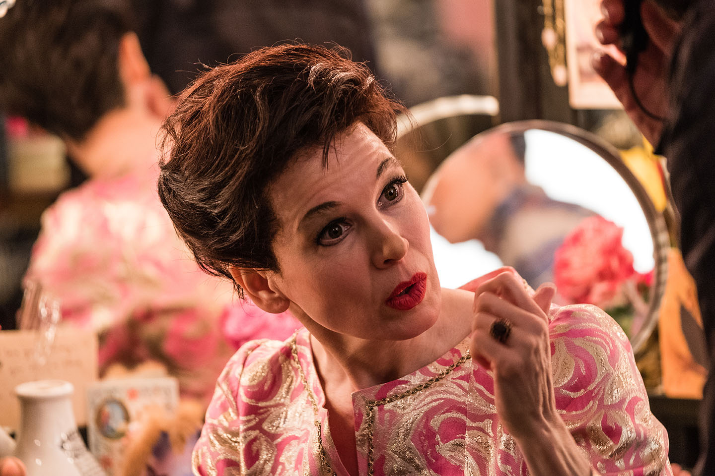 JUDY movie. Actress Renée Zellweger as Judy Garland
