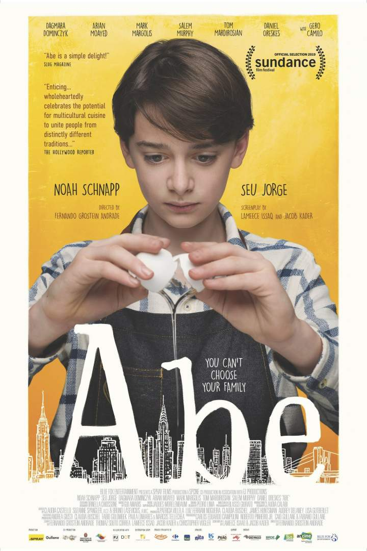 ABE movie poster feat. actor, Noah Schnapp