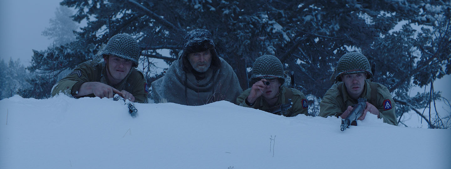 RECON 2019 movie. American soldiers are stuck in Italian mountains during World War II